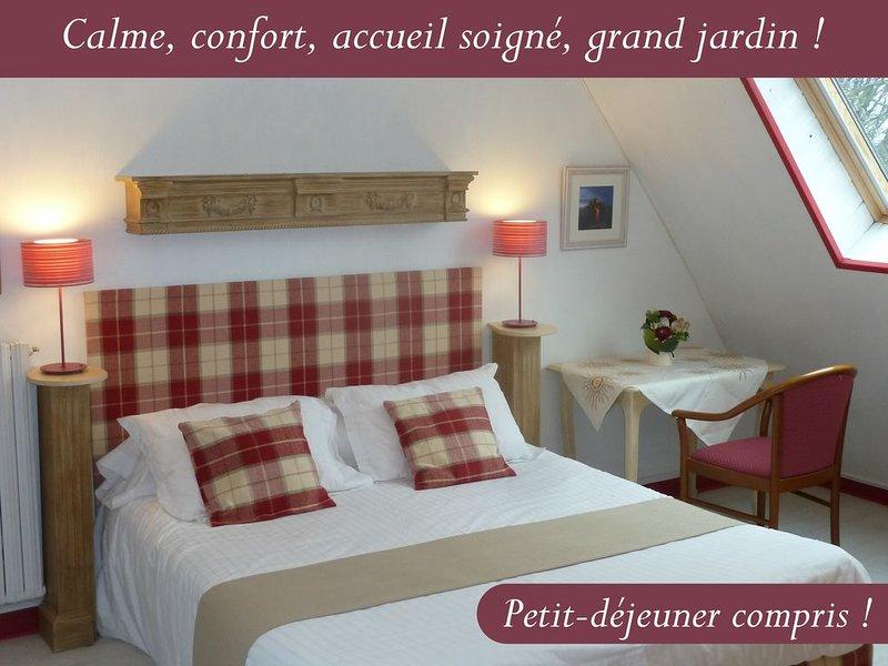 Chambre SAINT-MALO --- Les Bruyères du Mont, holiday rental in Mont-Saint-Michel