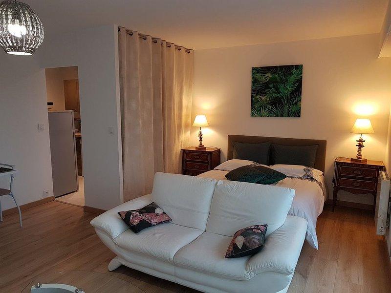 Appartement de 37m² avec terrasse à 05 mn du port, holiday rental in Plescop