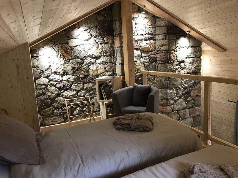 Possibilité 2 lits séparées 90 x 200