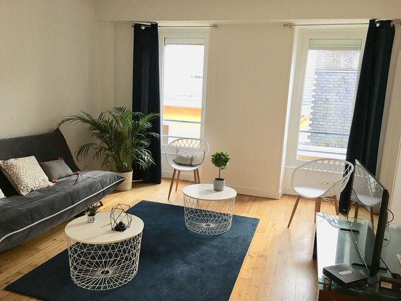appartement T3, calme , au coeur de la ville, location de vacances à Brest