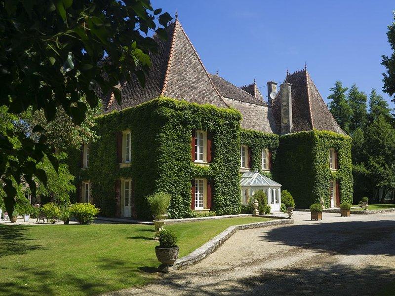 Chateau de Ricard Haut-Agenais Périgord,  demeure du 19ème dans un parc de 3 ha, holiday rental in Bournel