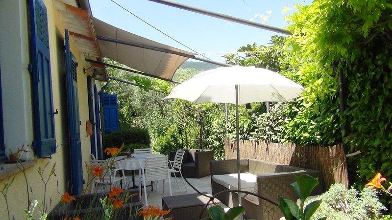 Location estivale  Belle villa dans  la campagne grassoise, location de vacances à Grasse
