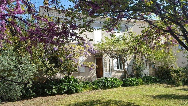 Belle maison ancienne avec jardin au centre de Nyons, vakantiewoning in Nyons