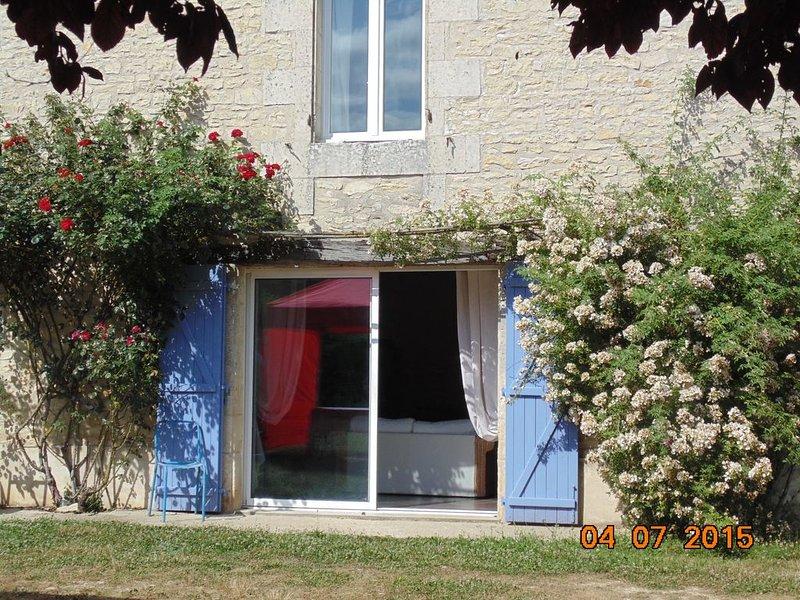 GITE DE FRANCE LE CLOS CONSTANCE, location de vacances à Saint-Jean-de-Sauves