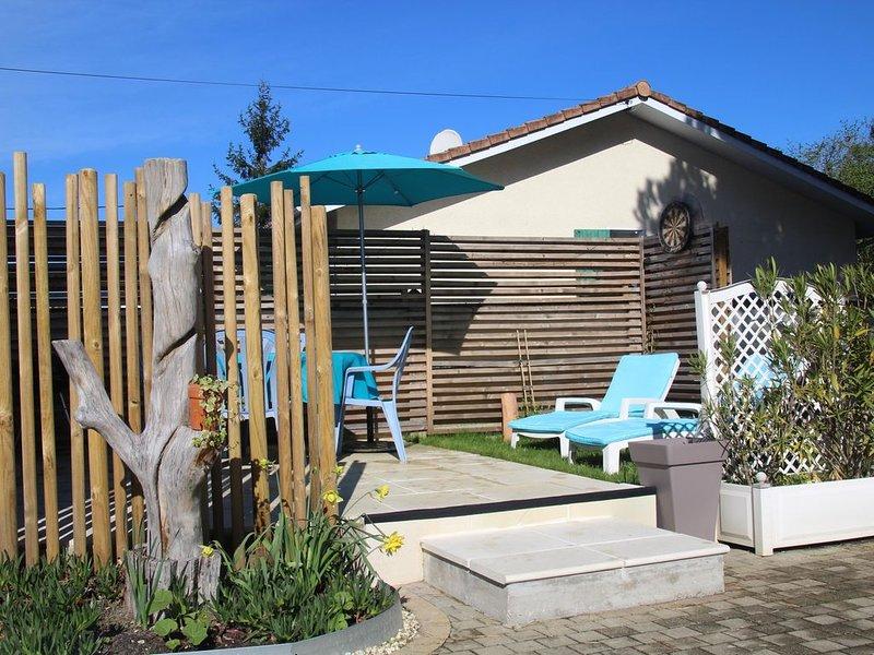 Arcachon, Gujan Mestras,nouvelle Aquitain  Maison indépendante lumineuse  ,jard, vacation rental in Gujan-Mestras