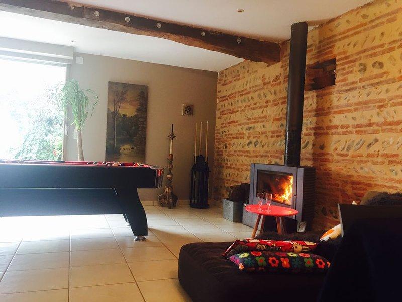 Maison de Maître aux portes de Gascogne 160 m2 au calme 'la maison du maitre', holiday rental in L'Isle-en-Dodon