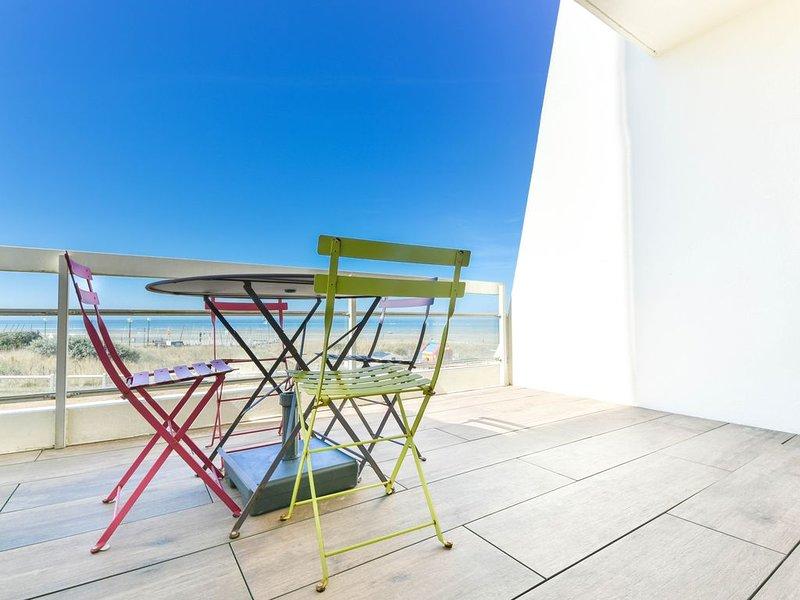 Magnifique appartement 1ch en front de mer dans la résidence des Dauphins, holiday rental in Neufchatel-Hardelot