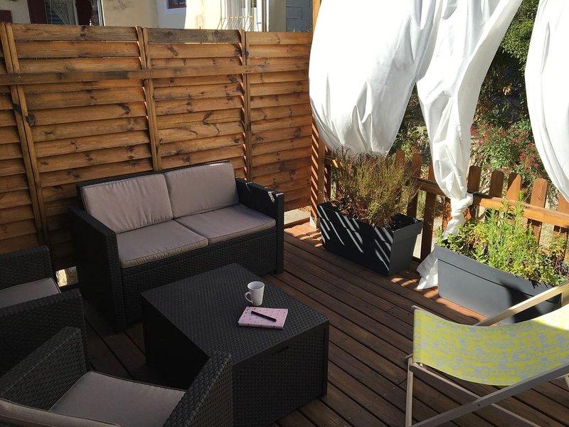 Appartement Cosy en Sud Luberon, idéal pour découvrir la Provence, location de vacances à Villelaure