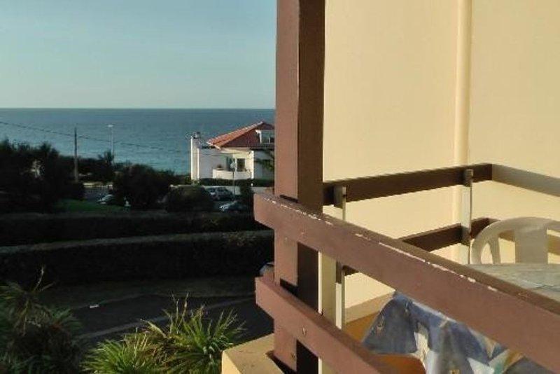 Anglet Biarritz : T1bis en bord d'ocean, location de vacances à Anglet