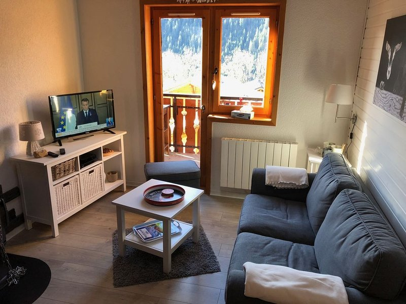 Appartement 4 personnes Petit Châtel, holiday rental in Torgon