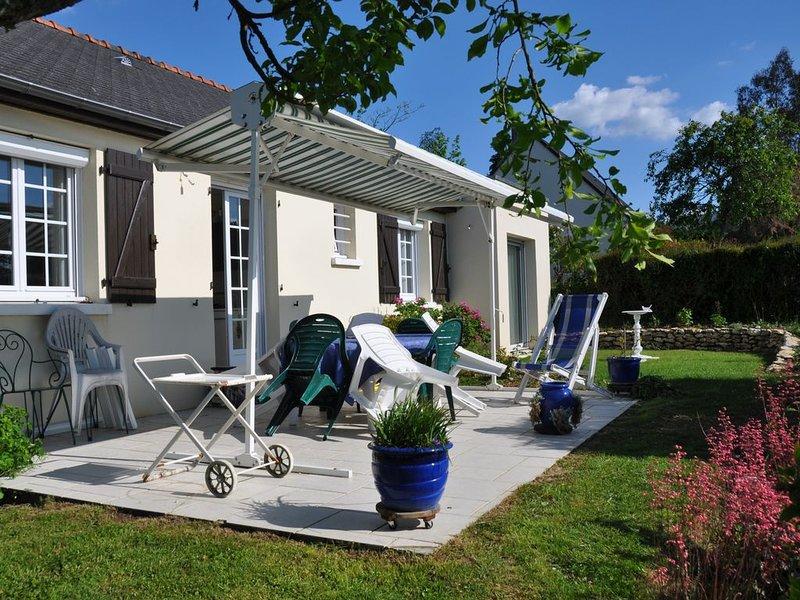 Maison au calme avec jardin, alquiler vacacional en La Croix-en-Touraine