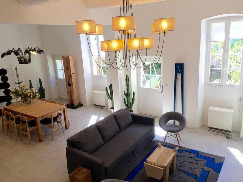Villeneuvette - Maison contemporaine d'exception, holiday rental in Cabrieres