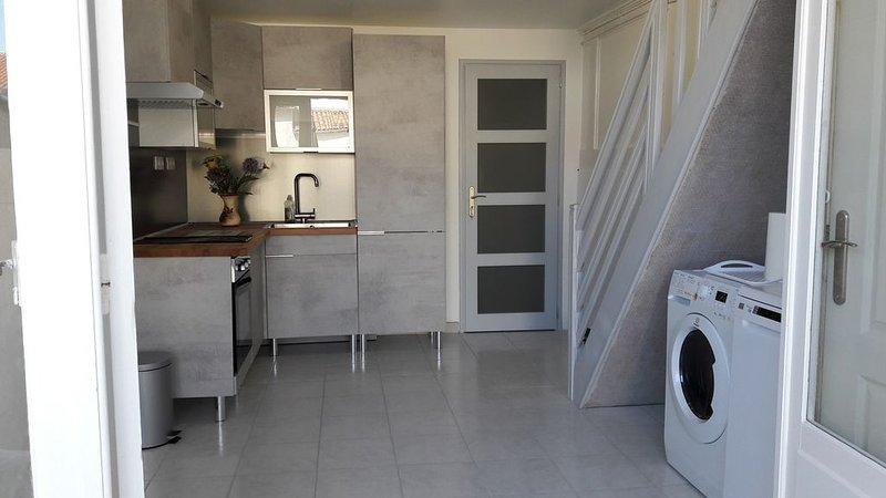 Maison de vacances pour 4pers a Meschers/Gironde, casa vacanza a Meschers-sur-Gironde