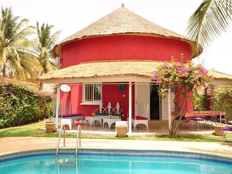 Villa avec piscine, 3 chambres au Safari Village, vacation rental in La Petite Cote