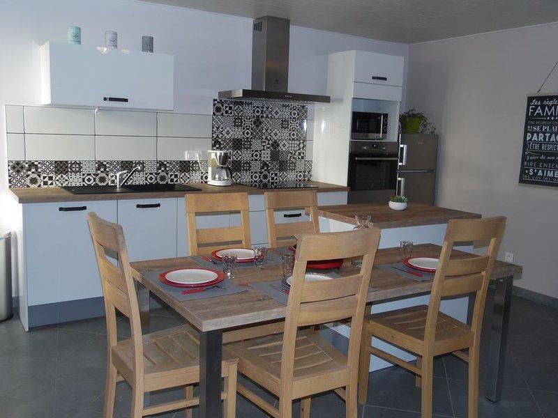 Gîte 4 **** Chez la Blanche, séjour à la campagne, calme pour 5 pers, holiday rental in Sancey-le-Grand