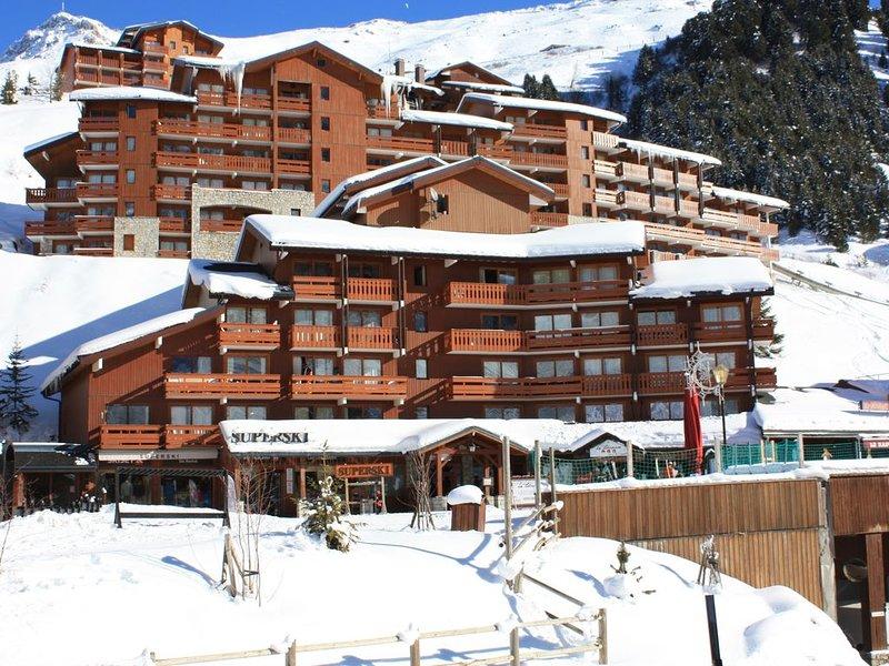 Méribel Mottaret, Vue sur le Mont Vallon, Appart 4/5 personnes skis aux pieds, vacation rental in Meribel Mottaret