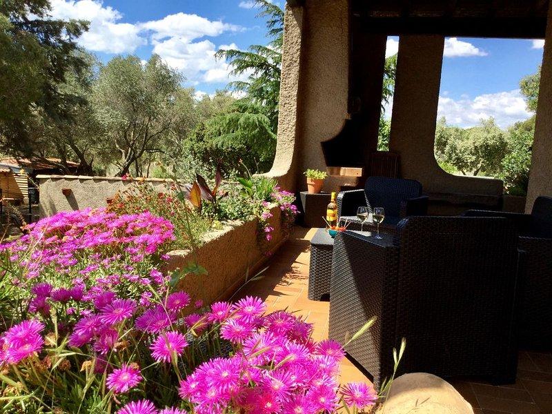 LE MAS SAINT PIERRE: en plein ❤️du vignoble de Muscat, location de vacances à Frontignan