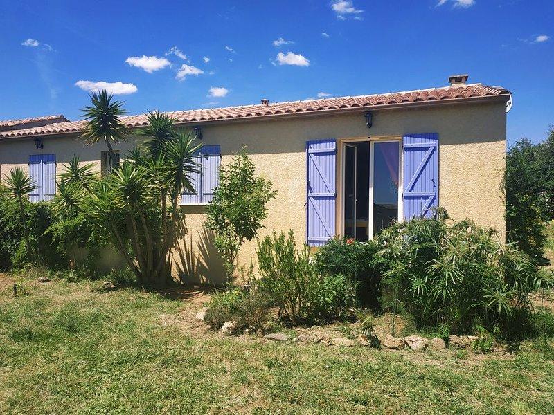 Petit coin de paradis au cœur du magnifique terroir languedocien., holiday rental in Gabian