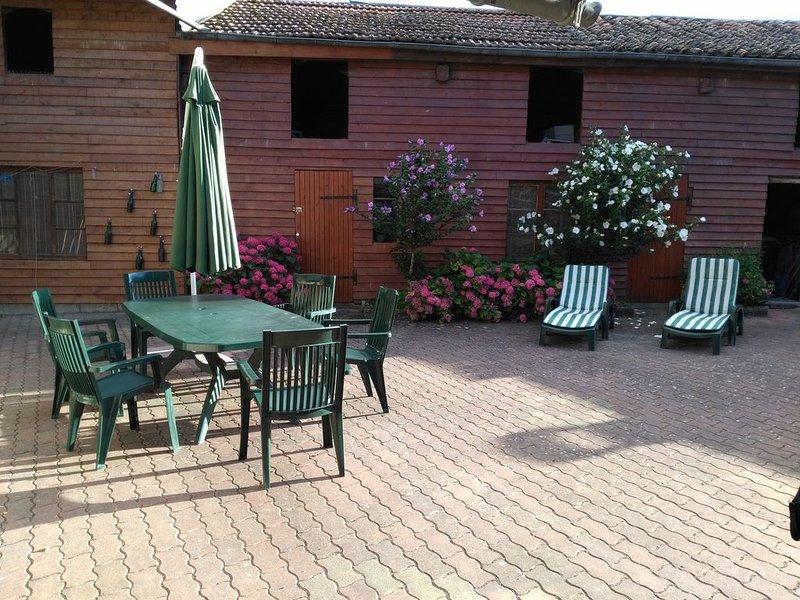 large garden furniture