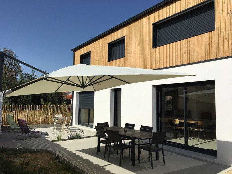 Maison bord de mer  Vendée Longeville sur mer spa, vacation rental in Longeville-sur-mer
