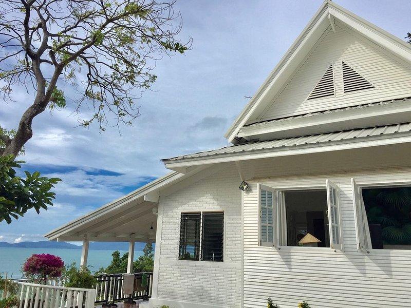 Koh Samui Sea View  White House Close to the Beach, vakantiewoning in Ang Thong