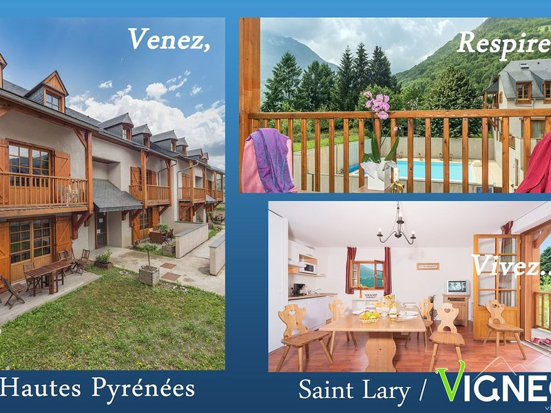 Location appartement T3 à Saint Lary, holiday rental in Vignec
