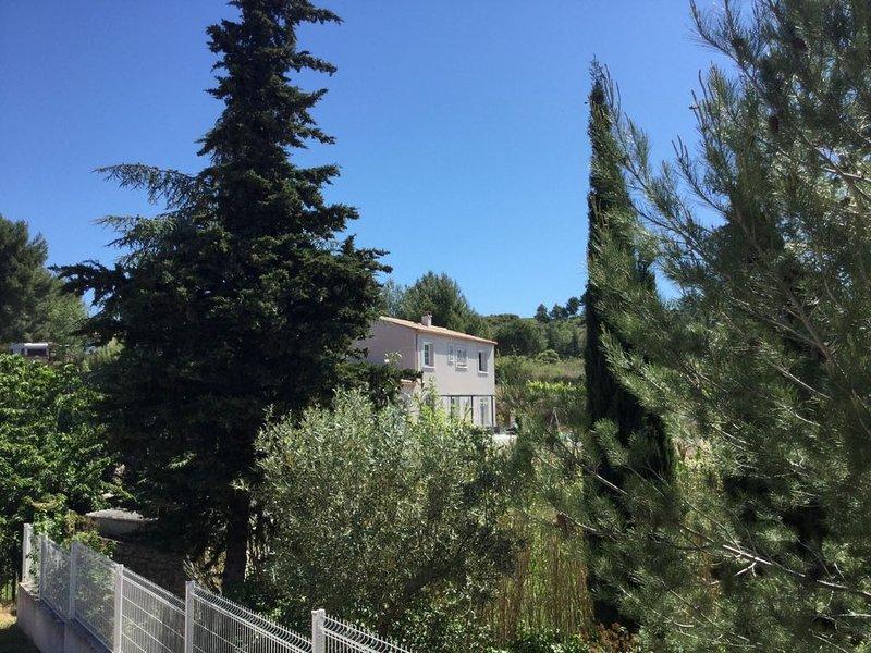 Maison  4 chambres avec piscine offre spéciale en ce moment, location de vacances à Caunes-Minervois