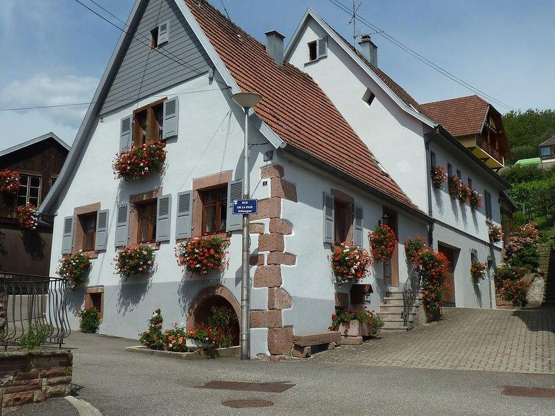 Gîte * * * 'La Maison aux Géraniums', alquiler vacacional en Breitenau