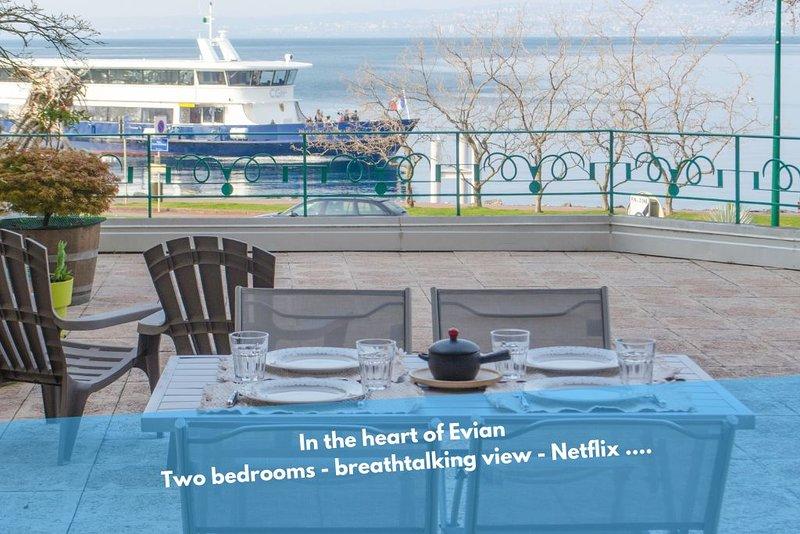 Le Baron - Evian les Bains, alquiler de vacaciones en Lausana