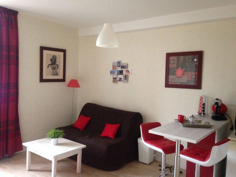 Appartement calme vue port Cancale, casa vacanza a Cancale