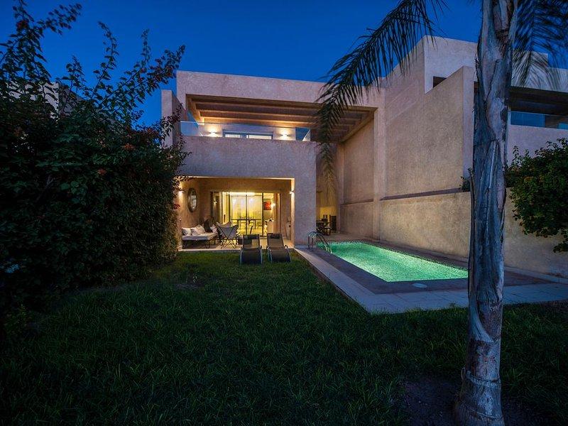 Villa loubane prestigia marrakech, holiday rental in Lagouassem