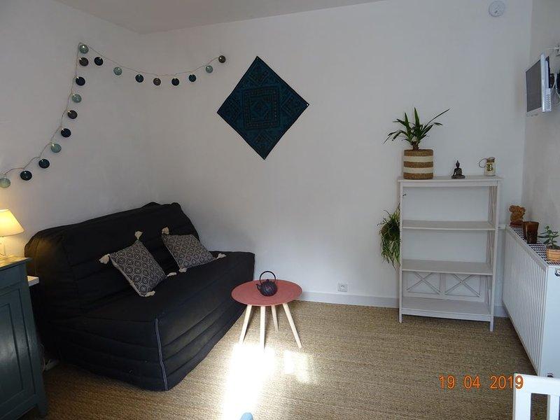 Studio cosy au calme, aluguéis de temporada em Saint-Emilion
