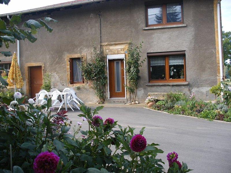 Vacances  campagnardes à Grand-Failly, casa vacanza a Mercy-le-Bas