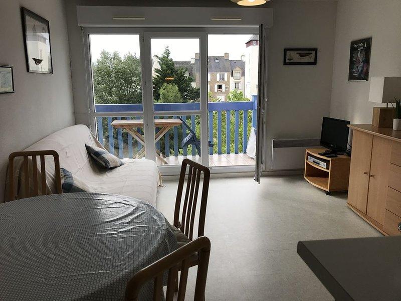 appartement avec piscine  Golfe du Morbihan...., location de vacances à Arzon