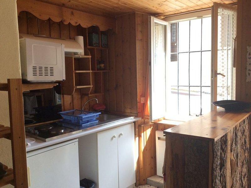 Studio ensoleillé pour 2 Sur Monêtier les bains, location de vacances à Le Monetier-les-Bains