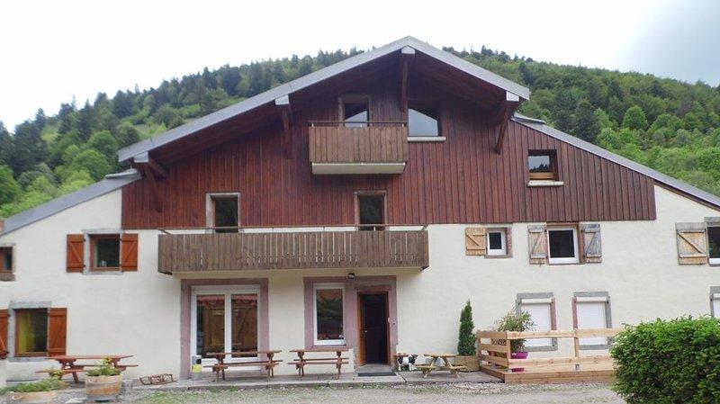 Gîte de charme style Vosgien 3 étoiles, holiday rental in Wildenstein
