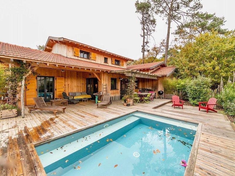 Maison Typique en bois CAP FERRET, holiday rental in Gironde