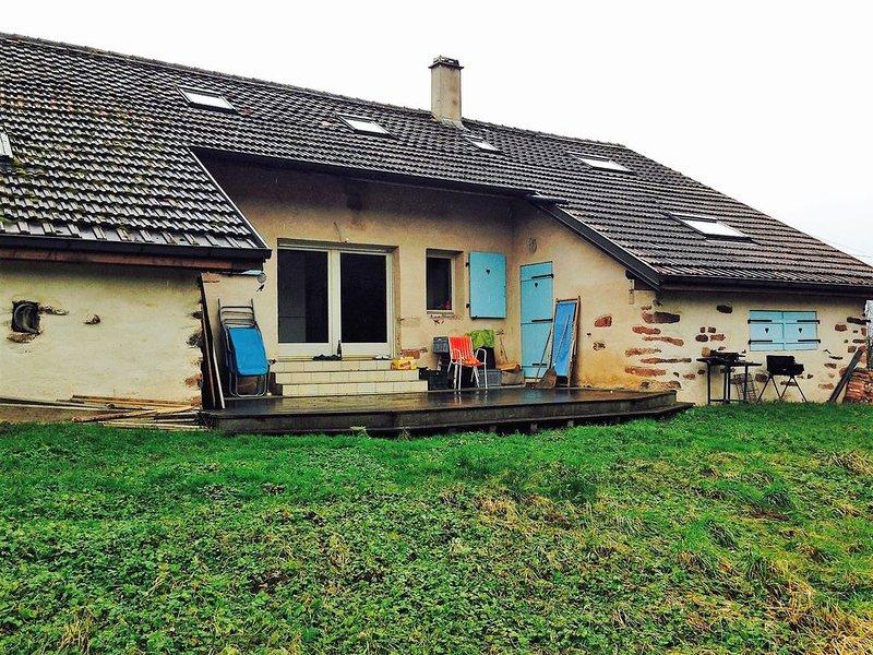 Maison au calme, avec vue dégagée et tout le confort au cœur de l'Alsace, holiday rental in Fouchy