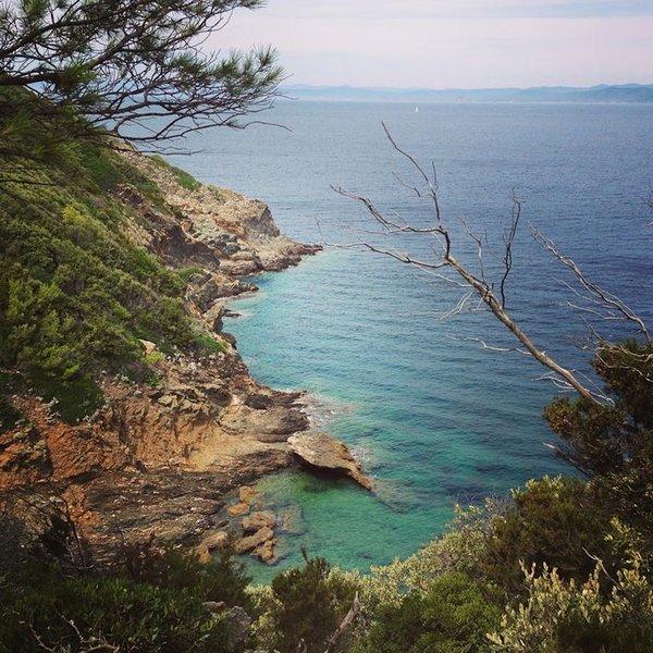Cliffs of Port Cros
