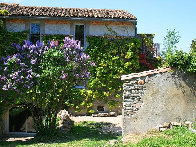 Gîte avec jardin dans un cadre idyllique, holiday rental in Villetritouls