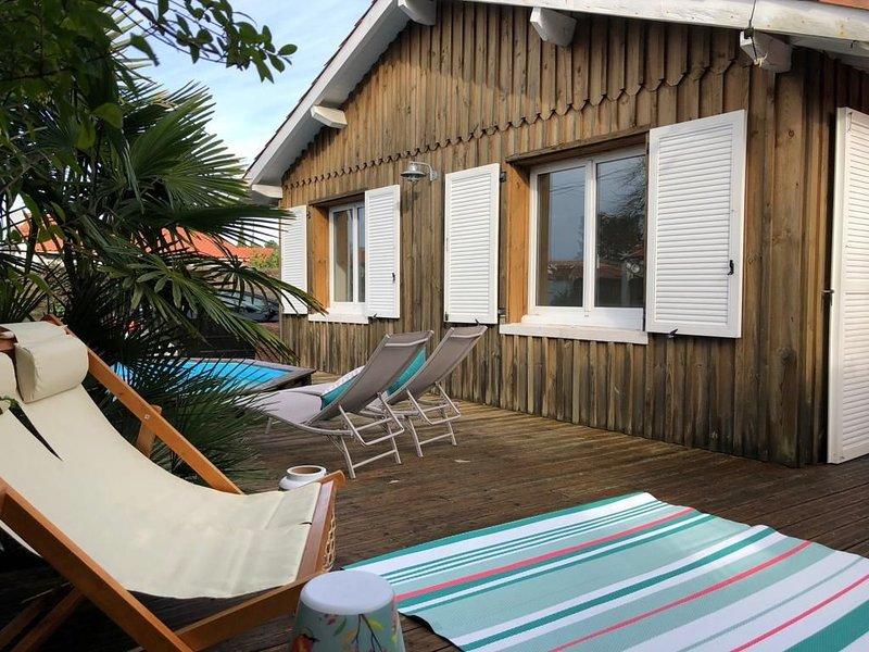 Nouveau!!! Maison de charme au Bassin d'Arcachon, au centre d'Andernos., holiday rental in Andernos-les-Bains
