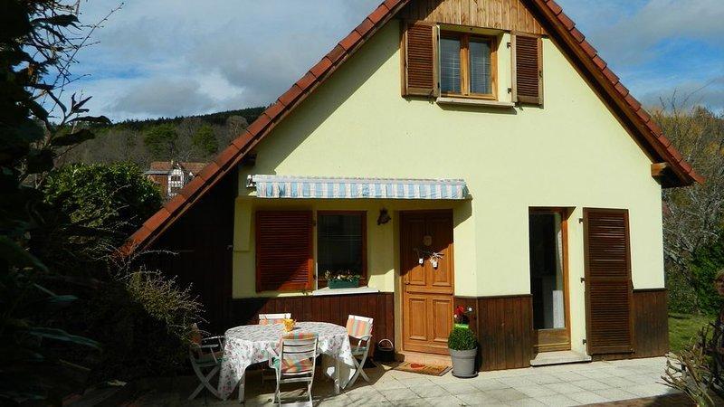 Gîte 4 P tout confort classé *** Application Protocole de propreté sanitaire, holiday rental in Sainte-Marie-aux-Mines