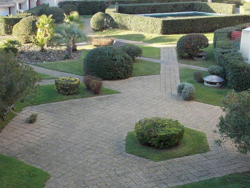 Appartement 5 couchages sur le Port de Plaisance de Capbreton Piscine et jardin, vacation rental in Capbreton