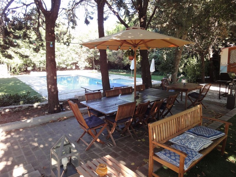 Bastide provencale avec jardin et piscine, vacation rental in Collobrieres