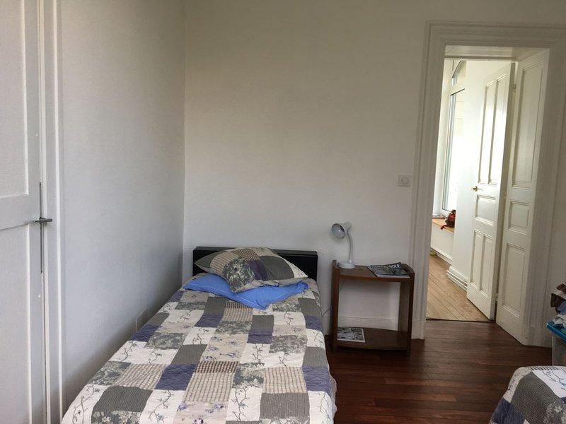 Superbe appartement vue mer dans résidence de charme, alquiler vacacional en Biarritz