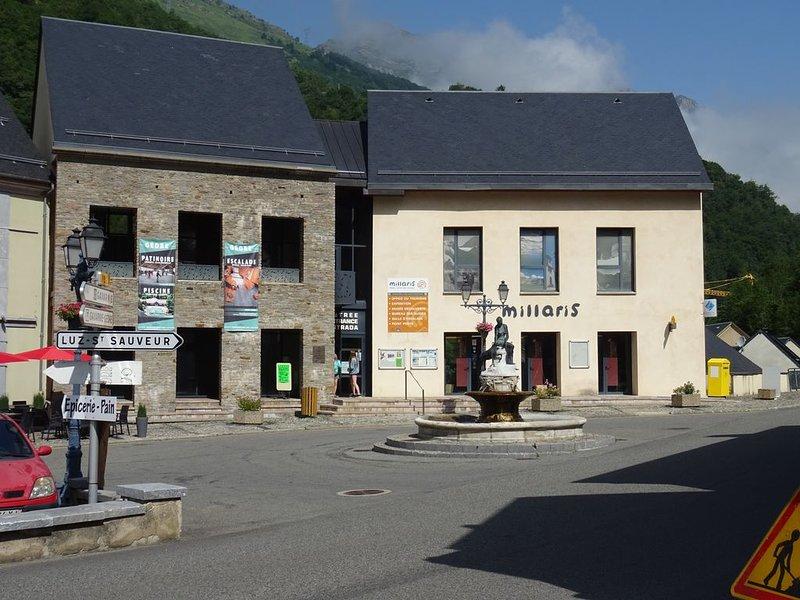Village Square of Gèdre