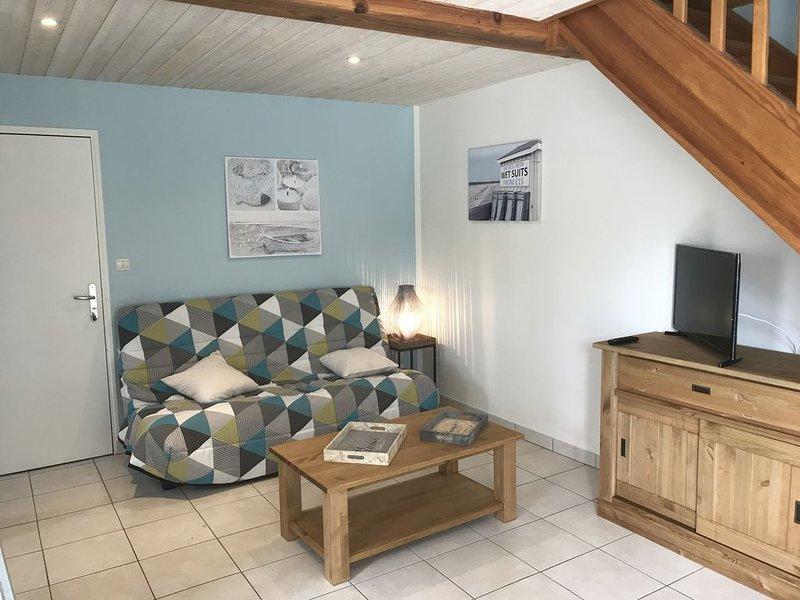 (4) Appartement T3 dans petite résidence proche de la rochelle et la plage, aluguéis de temporada em Aytre