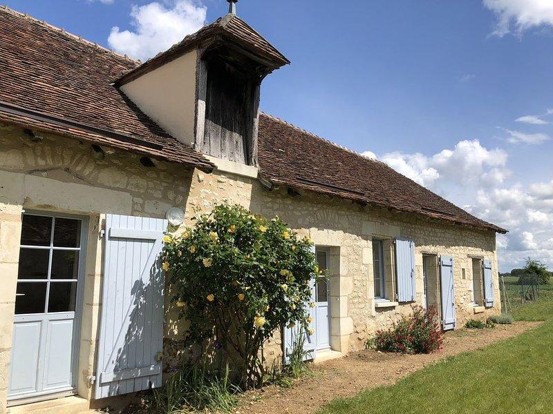 Longère de caractère au vert, location de vacances à La Roche-Posay