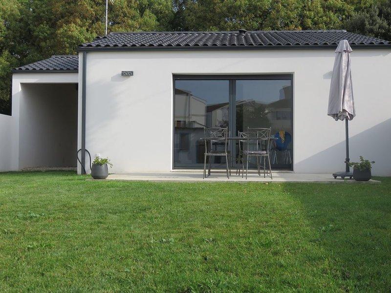 Charmante maison neuve à La Rochelle, alquiler vacacional en La Rochelle