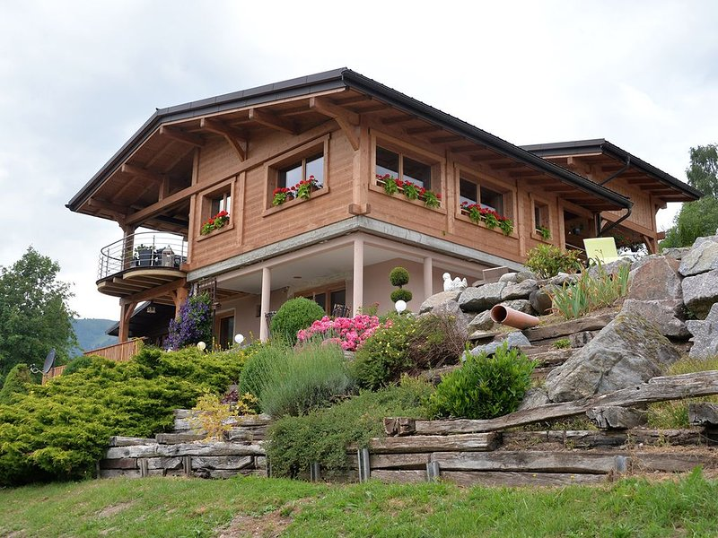 Chalet Panoramique belle vue sur la vallée et bien accessible, holiday rental in Husseren-Wesserling